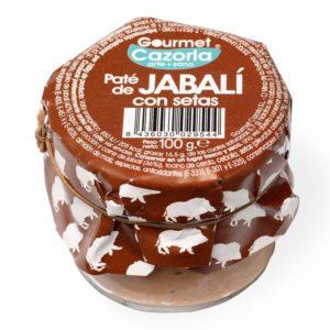 Paté - Jabalí con setas Sierra Cazorla