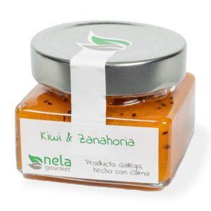 Mermelada Artesanal - Mermelada Nela, Kiwi y zanahoria